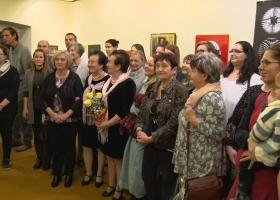 Devecseri Alkotókör - 20 év a körben című jubileumi kiállítása