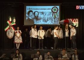 Március 15-i ünnepi megemlékezés Devecserben