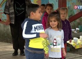 Szüret a devecseri Vackor Óvodában