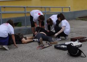 Magyar Vöröskereszt elsősegélynyújtó versenye Devecserben