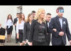 Elballagtak a végzős diákok a Máltai Szakközépiskolában