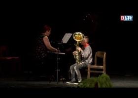 Rendhagyó koncert a Devecseri Zeneiskolában, Fehér András művész úr közreműködésével