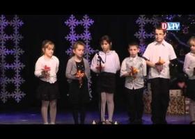 A Gárdonyi Géza Általános Iskola tanulóinak karácsonyi műsora