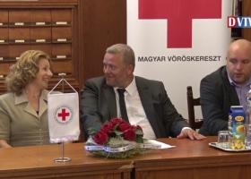 A Magyar Vöröskereszt Veszprém és Vas Megyei Világnapi ünnepsége