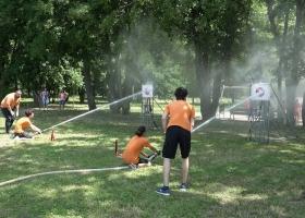 Tűzoltóverseny Devecserben