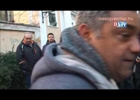 Demonstráció a vörösiszap per ítélete ellen