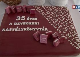 35 éves évfordulóját ünnepelte a Devecseri Városi Könyvtár