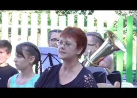 A Devecseri Zeneiskola zenetábori koncertje Balatonszepezden
