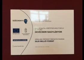 A Magyar Máltai Szeretetszolgálat Iskola Alapítvány Devecser nagylányok projektzáró rendezvénye